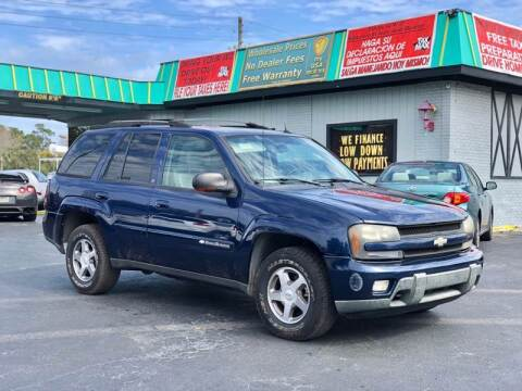 2004 Chevrolet TrailBlazer for sale at my USA motors - (Bad Credit? MYBUYHEREPAYHERE.com) in Brooksville FL