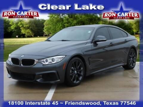 2016 BMW 4 Series for sale at Ron Carter  Clear Lake Used Cars in Houston TX