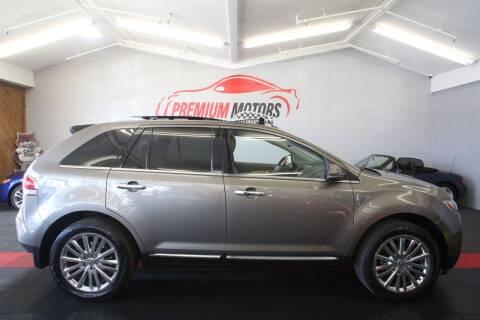 2012 Lincoln MKX for sale at Premium Motors in Villa Park IL