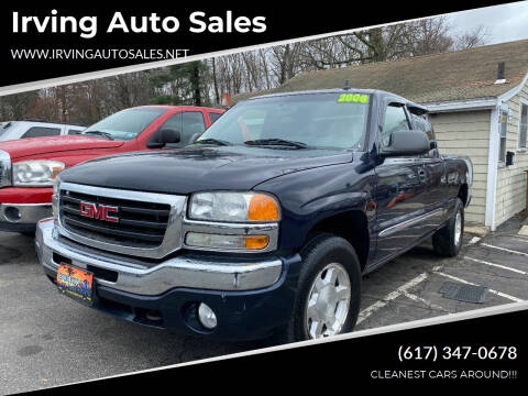 2006 GMC Sierra 1500 for sale at Irving Auto Sales in Whitman MA