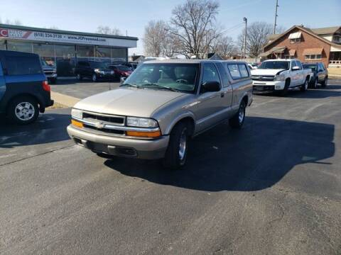 2001 Chevrolet S-10 for sale at JC Auto Sales in Belleville IL