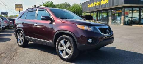2013 Kia Sorento for sale at South Point Auto Plaza, Inc. in Albany NY