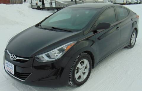 2014 Hyundai Elantra for sale at Dependable Used Cars in Anchorage AK