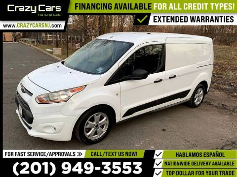 2016 Ford Transit Connect Cargo for sale at Crazy Cars Auto Sale in Jersey City NJ