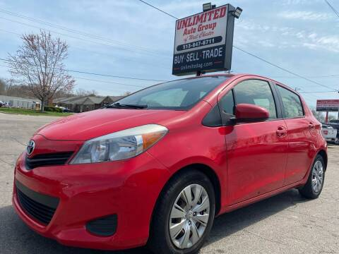 2014 Toyota Yaris for sale at Unlimited Auto Group in West Chester OH