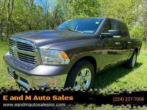 2014 RAM Ram Pickup 1500 for sale at E and M Auto Sales in Elgin IL