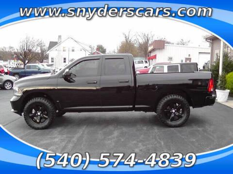 2014 RAM Ram Pickup 1500 for sale at Snyders Auto Sales in Harrisonburg VA
