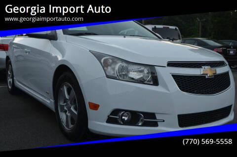 2014 Chevrolet Cruze for sale at Georgia Import Auto in Alpharetta GA