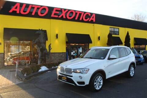 2015 BMW X3 for sale at Auto Exotica in Red Bank NJ