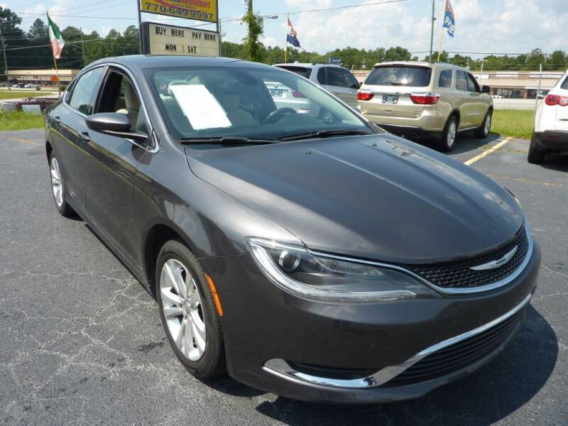 2015 Chrysler 200 for sale at Roswell Auto Imports in Austell GA
