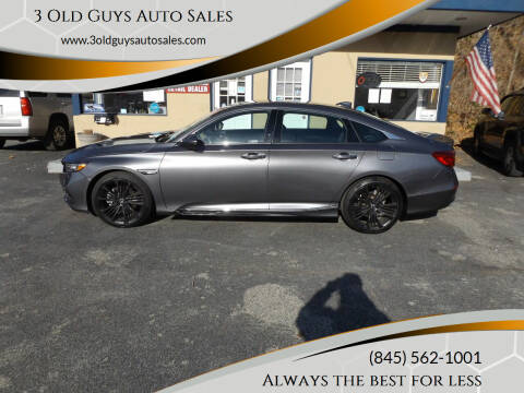 2018 Honda Accord for sale at 3 Old Guys Auto Sales in Newburgh NY