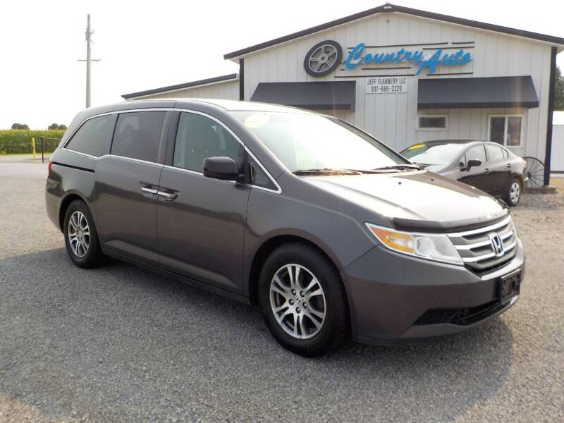 2012 Honda Odyssey for sale at Country Auto in Huntsville OH