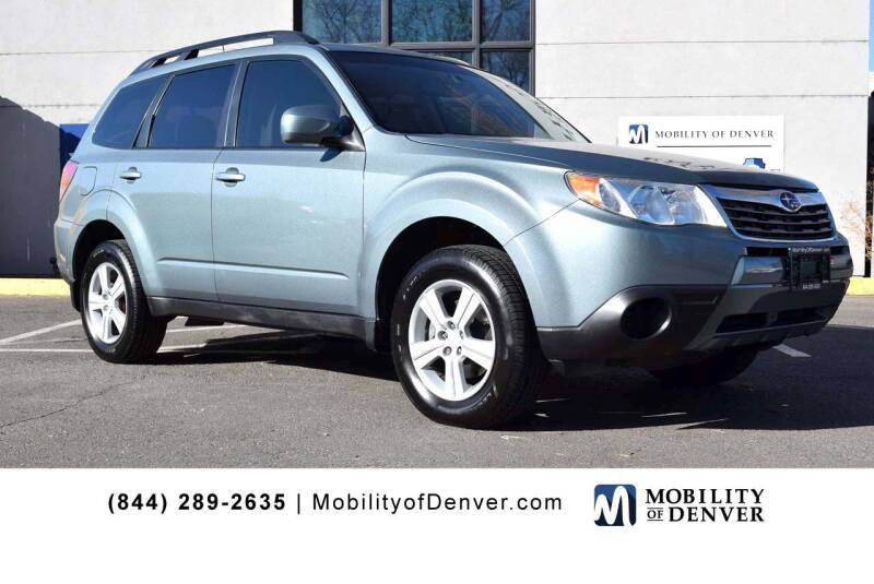 2010 Subaru Forester for sale at CO Fleet & Mobility in Denver CO