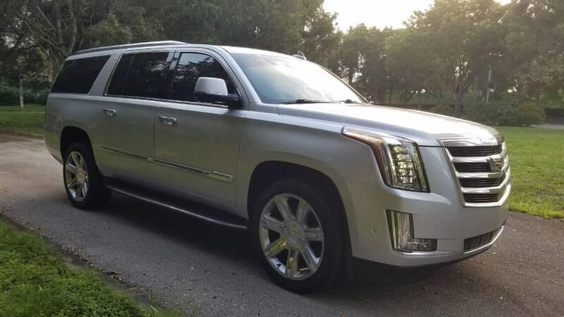 2018 Cadillac Escalade ESV for sale at DELRAY AUTO MALL in Delray Beach FL