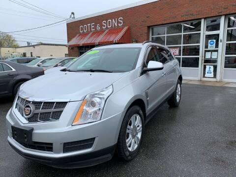 2010 Cadillac SRX for sale at Cote & Sons Automotive Ctr in Lawrence MA