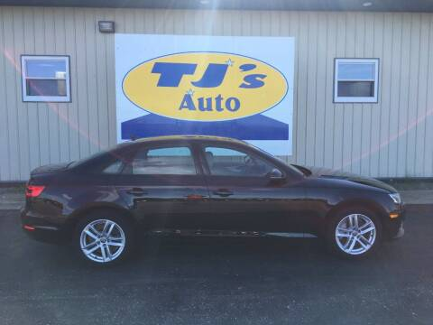 2017 Audi A4 for sale at TJ's Auto in Wisconsin Rapids WI