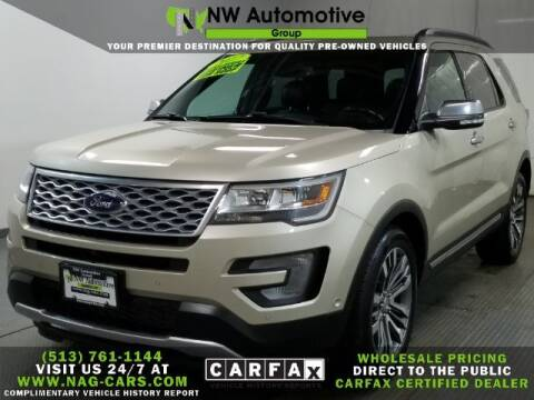 2017 Ford Explorer for sale at NW Automotive Group in Cincinnati OH