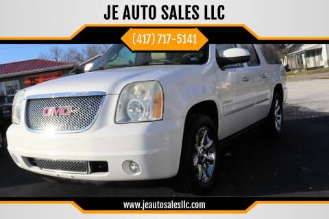 2007 GMC Yukon XL for sale at JE AUTO SALES LLC in Webb City MO