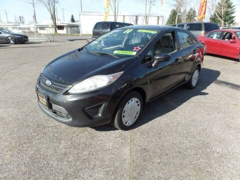 2011 Ford Fiesta for sale at Gold Key Motors in Centralia WA