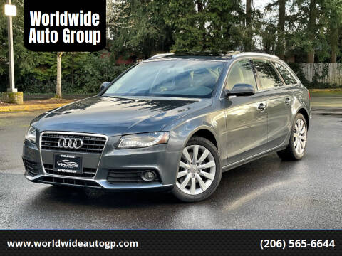 2010 Audi A4 for sale at Worldwide Auto Group in Auburn WA
