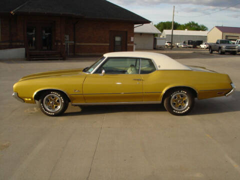 1972 Oldsmobile Cutlass for sale at Quality Auto Sales in Wayne NE