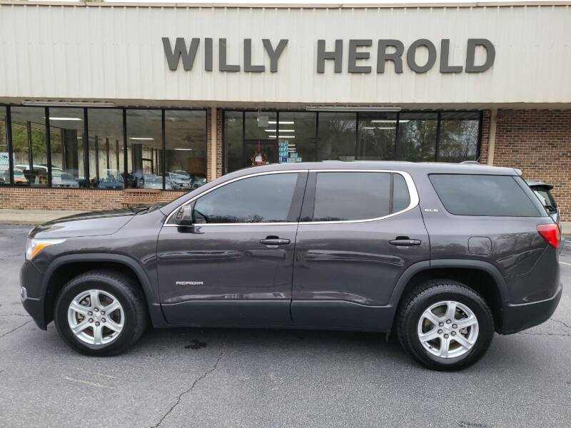 2017 GMC Acadia for sale at Willy Herold Automotive in Columbus GA