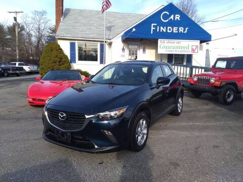 2017 Mazda CX-3 for sale at CAR FINDERS OF MARYLAND LLC in Eldersburg MD