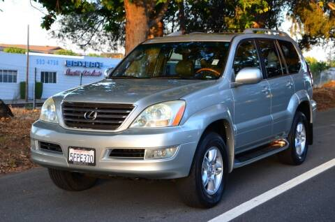 2004 Lexus GX 470 for sale at Brand Motors llc in Belmont CA