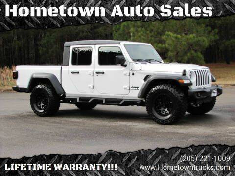2020 Jeep Gladiator for sale at Hometown Auto Sales - Trucks in Jasper AL