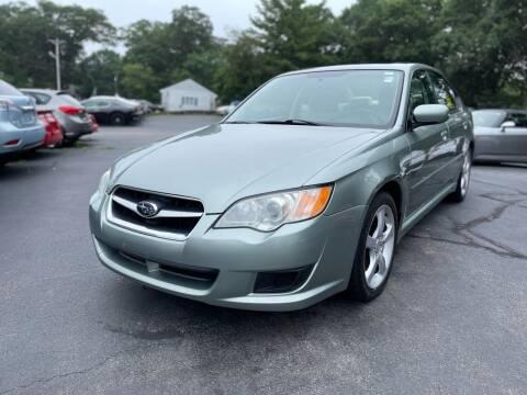 2009 Subaru Legacy for sale at SOUTH SHORE AUTO GALLERY, INC. in Abington MA
