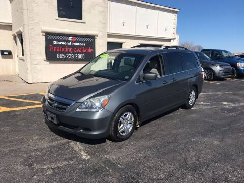 2007 Honda Odyssey for sale at Diamond Motors in Pecatonica IL