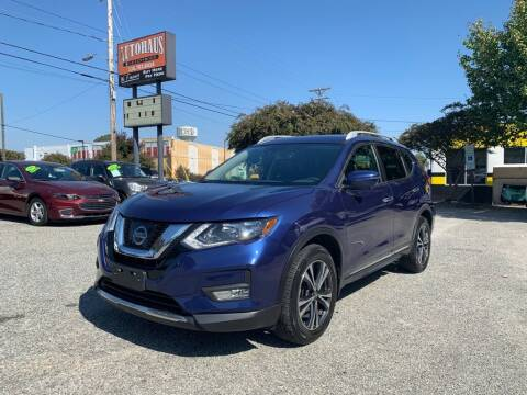 2017 Nissan Rogue for sale at Autohaus of Greensboro in Greensboro NC