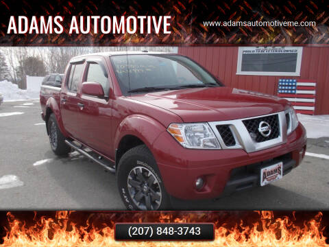 2019 Nissan Frontier for sale at Adams Automotive in Hermon ME