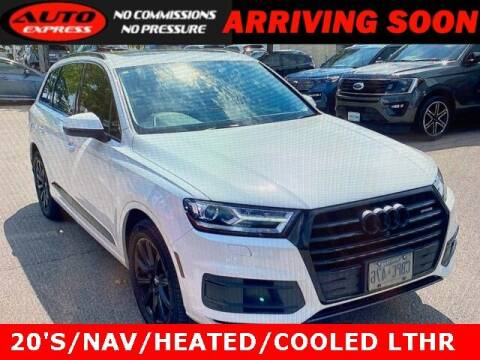 2018 Audi Q7 for sale at Auto Express in Lafayette IN