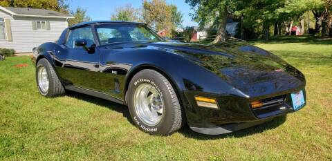 1980 Chevrolet Corvette for sale at Midwest Classic Car in Belle Plaine MN
