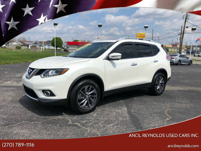 2016 Nissan Rogue for sale at Ancil Reynolds Used Cars Inc. in Campbellsville KY
