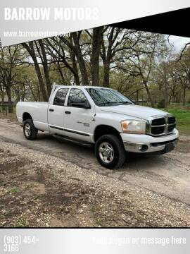 2006 Dodge Ram Pickup 2500 for sale at BARROW MOTORS in Caddo Mills TX