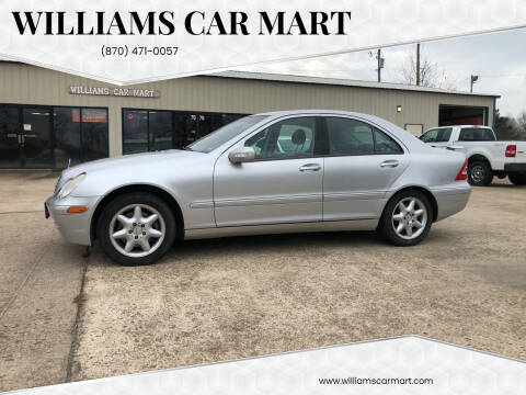 2002 Mercedes-Benz C-Class for sale at WILLIAMS CAR MART in Gassville AR