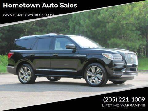 2018 Lincoln Navigator for sale at Hometown Auto Sales - SUVS in Jasper AL