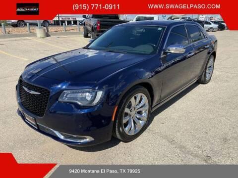 2017 Chrysler 300 for sale at SOUTHWEST AUTO GROUP-EL PASO in El Paso TX