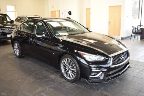 2018 Infiniti Q50 for sale at BMW OF NEWPORT in Middletown RI