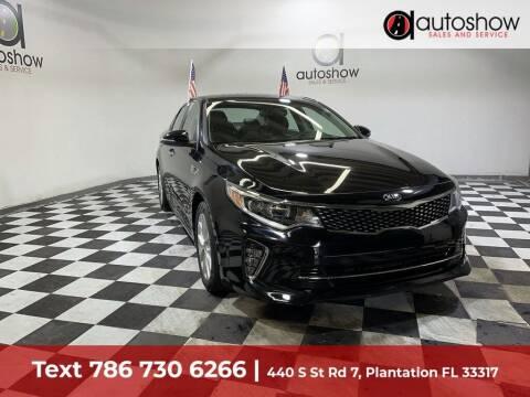 2018 Kia Optima for sale at AUTOSHOW SALES & SERVICE in Plantation FL