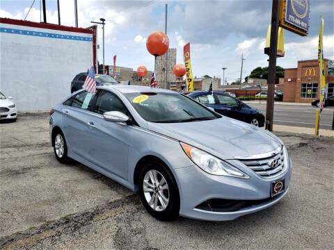 2014 Hyundai Sonata for sale at AutoBank in Chicago IL