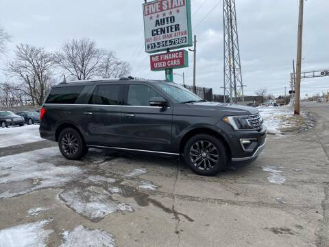 2020 Ford Expedition MAX for sale at Five Star Auto Center in Detroit MI