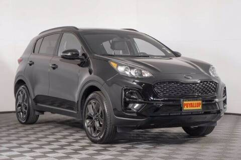 2021 Kia Sportage for sale at Chevrolet Buick GMC of Puyallup in Puyallup WA