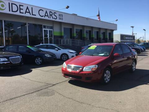 2008 Kia Spectra for sale at Ideal Cars East Main in Mesa AZ