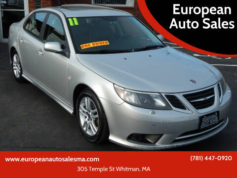 2011 Saab 9-3 for sale at European Auto Sales in Whitman MA