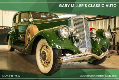 1934 Pierce Arrow XT for sale at Gary Miller's Classic Auto in El Paso IL