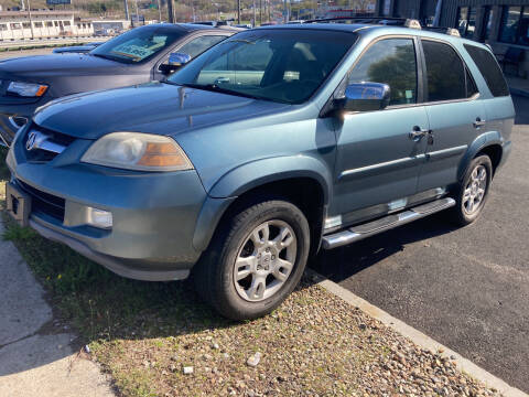 2005 Acura MDX for sale at 222 Newbury Motors in Peabody MA