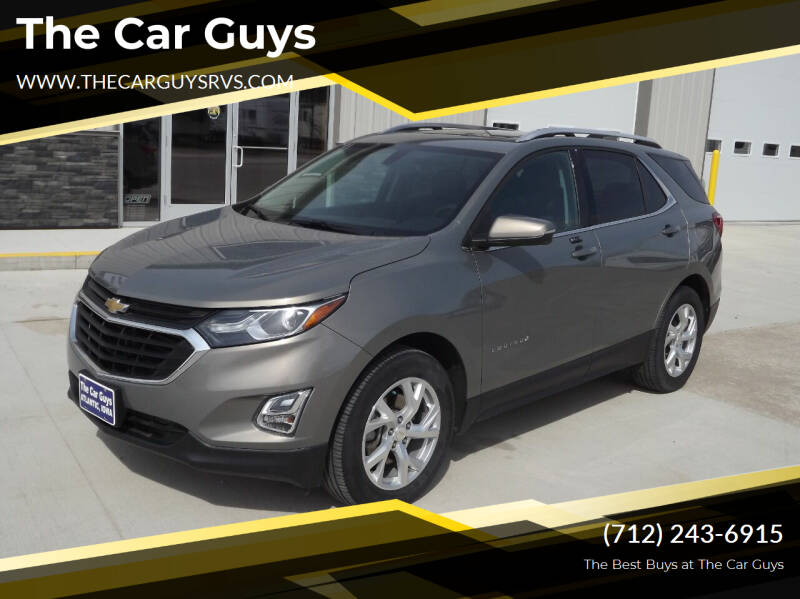 2018 Chevrolet Equinox for sale at The Car Guys RV & Auto in Atlantic IA